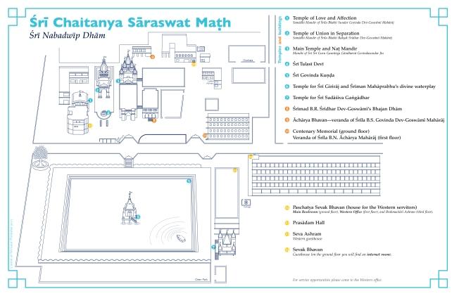 Mapa Nabadwip Dham