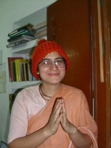 Vishaka Devi Dasi em Nabadwip